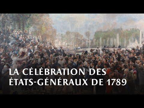 La célébration du centenaire des Etats-Généraux de 1789