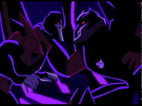 Megatron Abuses Starscream's Wing