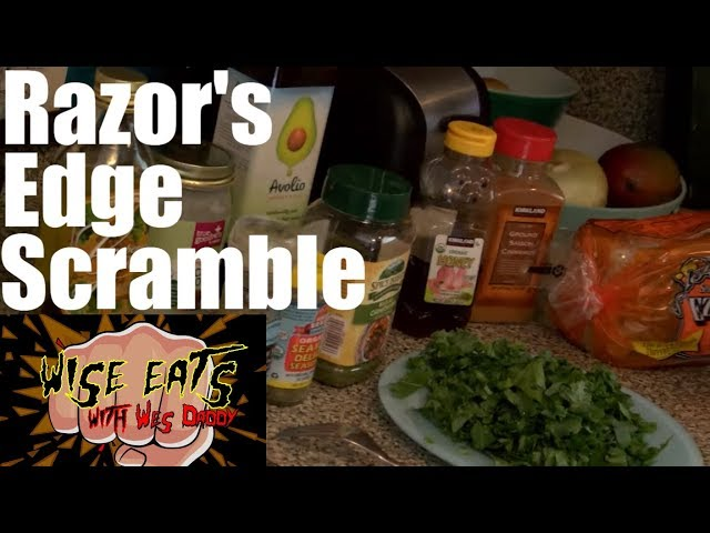 Wise Eats - Razor's Edge Scramble & Filthy French Toast - Healthy French Toast, Scrambled Egg Recipe