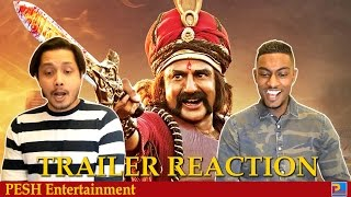 Gautamiputra Satakarni Official Trailer Reaction | Nandamuri Balakrishna | PESH Entertainment