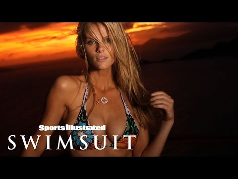 Brooklyn Decker Takes A Sip On Heaven Against The Sunset | Intimates | Sports Illustrated Swimsuit