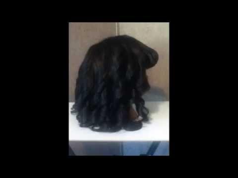 DIY wig * Using household items