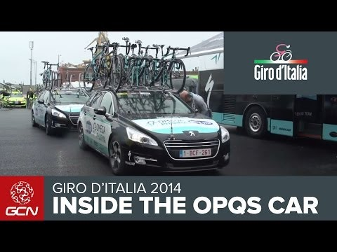 Omega Pharma Quick-Step Team Car Tour | Giro D'Italia 2014