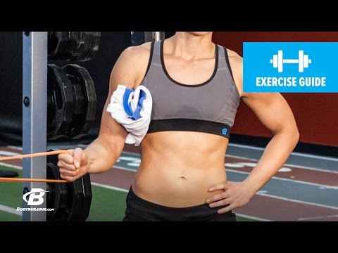 How To Do An Internal Rotation with Band | Exercise Guide