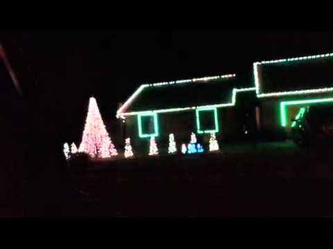 Musical Christmas Light Performance