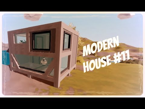 Unturned Tutorial Modern House 11 Youtube
