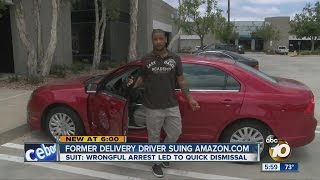 Former delivery driver suing Amazon