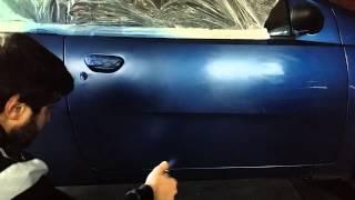 Как красить баллончиком? Супербюджетная покраска-Часть N2.(Вторая часть видео о том, как при полном отсутствии условий покрасить машину. Покупка машину тут: https://www.youtube..., 2015-01-17T17:19:57.000Z)
