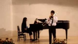 全國音樂比賽-長號獨奏自選曲