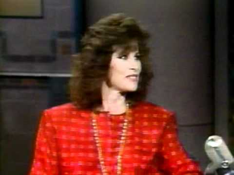 Stephanie Powers on David Letterman 1985, Pt. 1