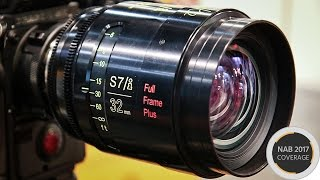 Hands On With the New Cooke S7/i Primes at NAB 2017