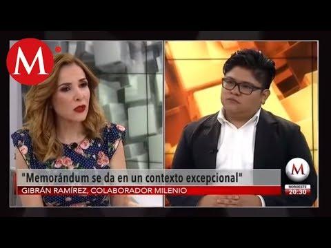 Memorándum de AMLO no es un error: Gibrán Ramírez