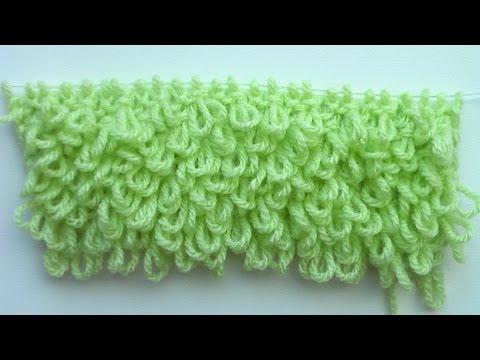 Махровое вязание крючком