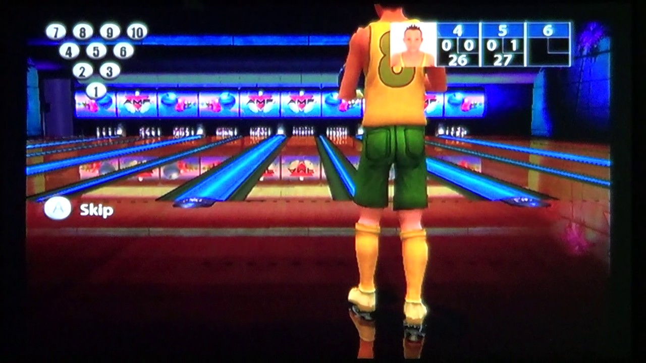 amf bowling pinbusters wii