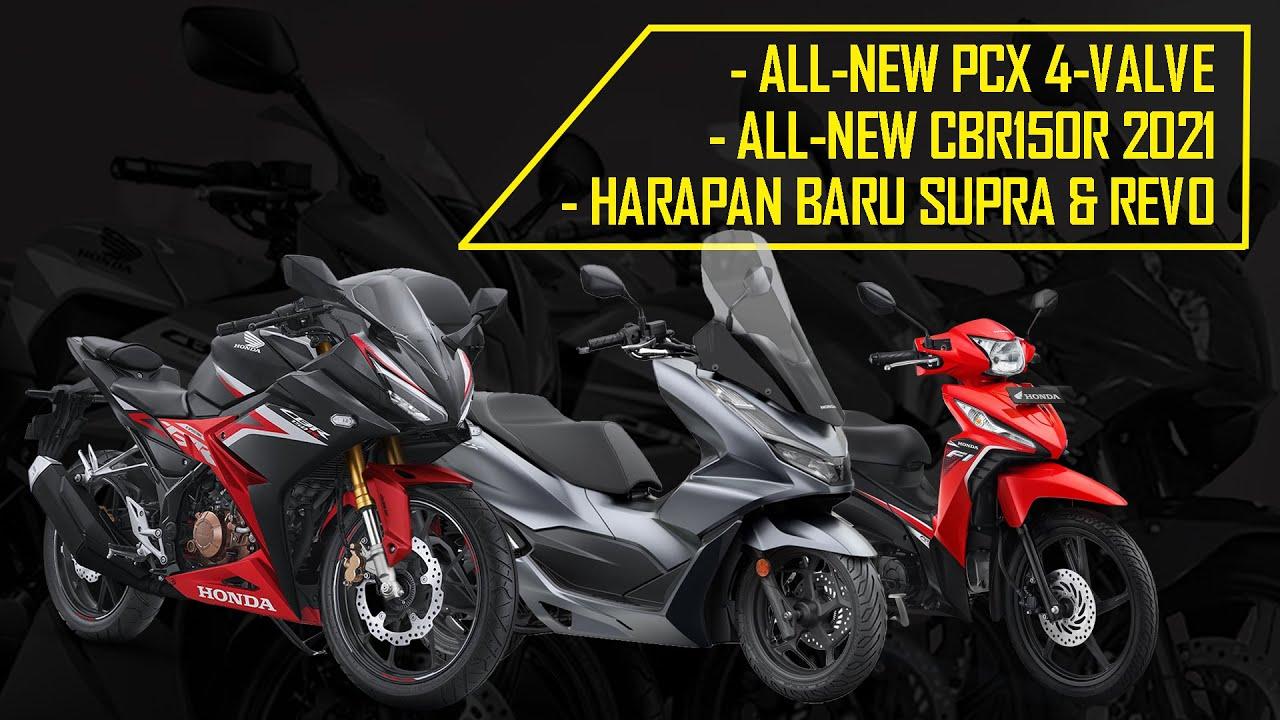 Honda PCX 4-Valve, All-New CBR150R 2021 & Harapan Baru Supra 125 | Weekly Motorcycle News