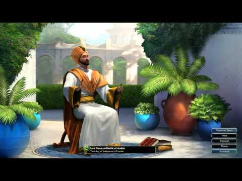 Civilization V OST | Harun al-Rashid War Theme | Thikriati; Hijaz Maqam