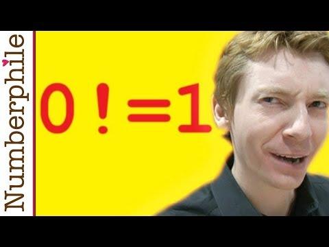 Zero Factorial - Numberphile