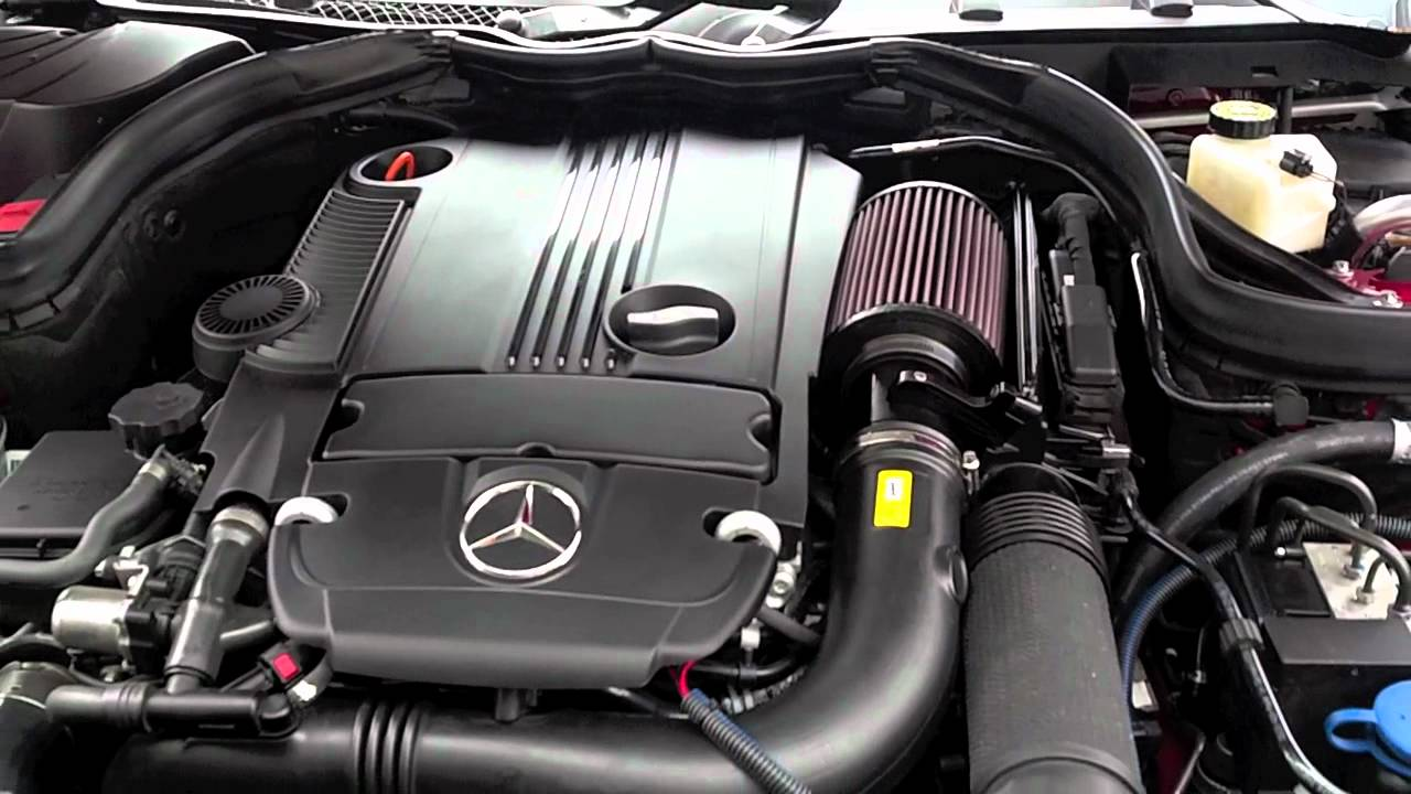 Mercedes Benz C250 Performance Intake By Bms Youtube