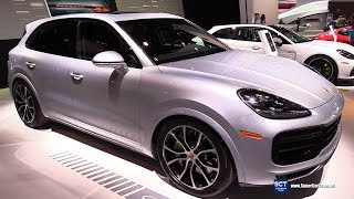 2019 Porsche Cayenne Turbo - Exterior and Interior Walkaround - 2018 Chicago Auto Show