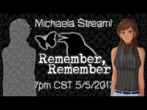 Michaela Stream! Sneak Peek into Remember, Remember! +64k Subs Celebration!!!