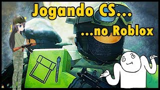 (12+) Jogando Counter Blox - Dando Rage no CS-GO do Roblox!