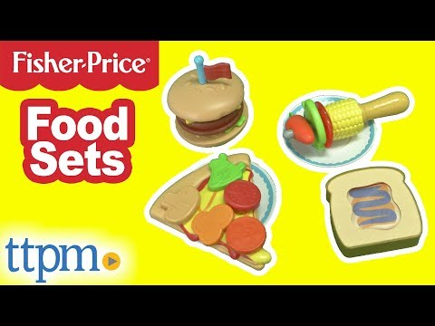 Fisher-Price Food Sets From Fisher-Price