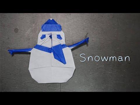 Origami Tutorial: Snowman (Yoo Taeyong)|Hello Malinda