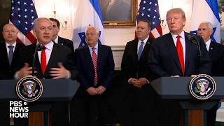 WATCH LIVE: President Donald Trump and Israel Prime Minister Benjamin Netanyahu at the White House