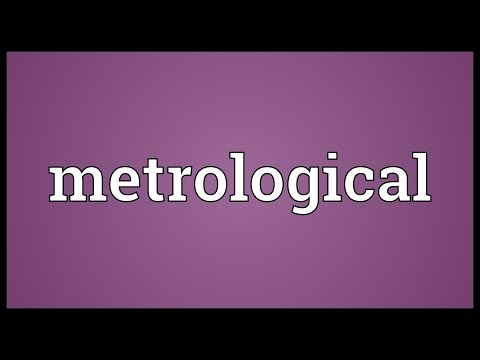 Header of metrological