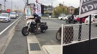 from大阪  イーブルマスクお買い上げ〜👹 ハーレー ランデブー