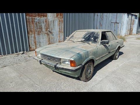 30 Yıl önce Terk Edilmiş Ford Taunus şimdi Ne Durumda? Çalışacak Mı?