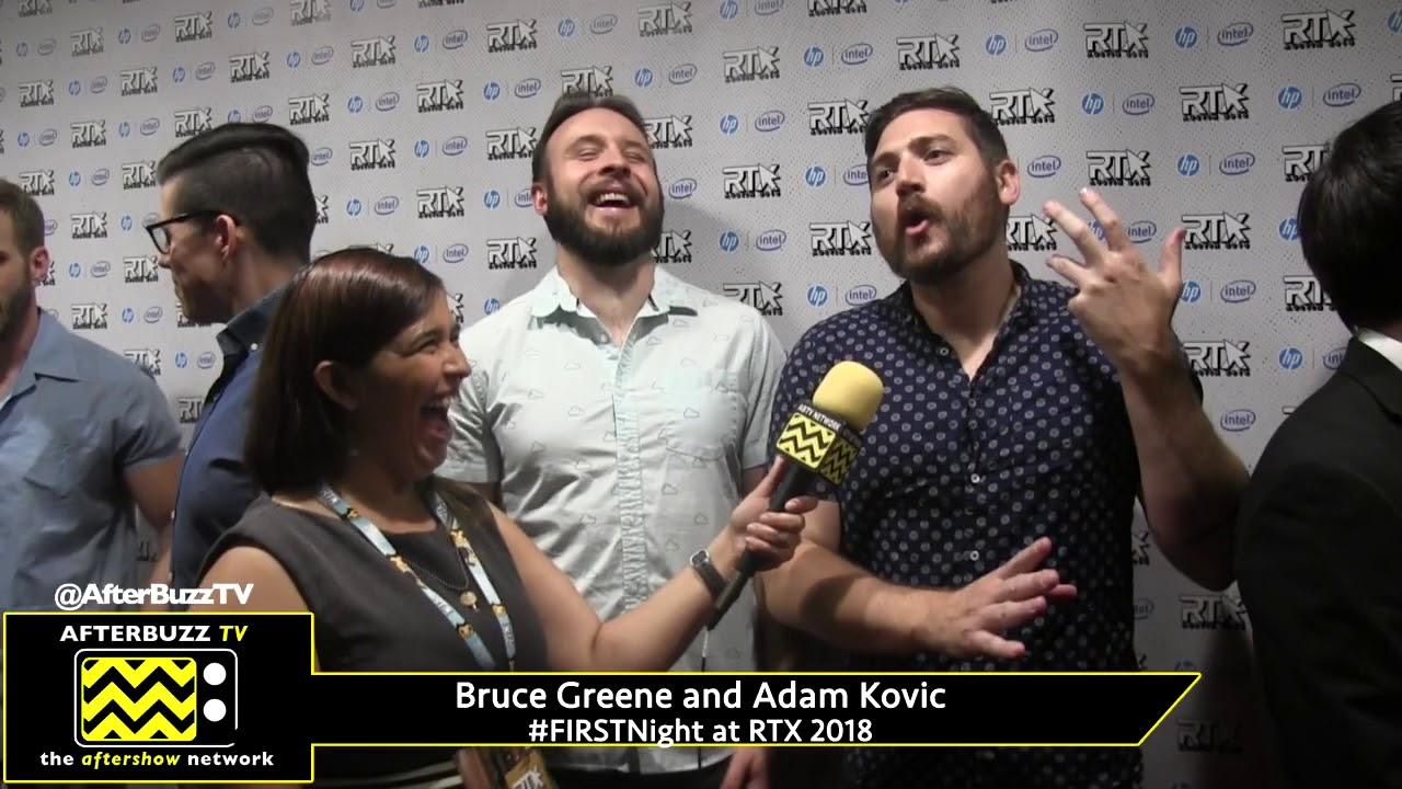 Bruce Greene and Adam Kovic at RTX 2018 #FIRSTNight - YouTube