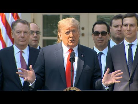 President Trump delivers remarks on new trade deal with Mexico, Canada  | ABC News