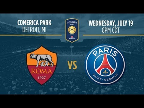 ★ as roma 1:1 psg fc ★ international champions cup | united states - detroit ★ live stream ★👓★