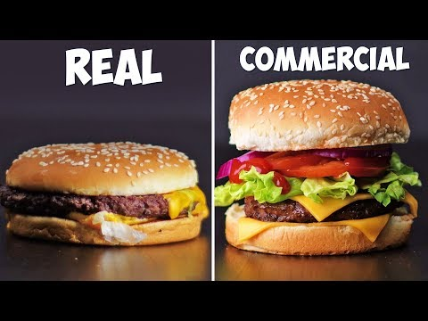 Tricks Advertisers Use To Make Food Look Delicious! DIY Food