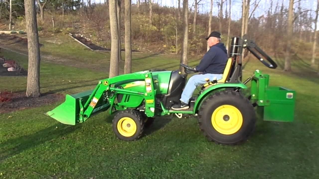 John Deere 2520 4x4 Compact Tractor Youtube
