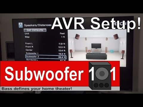 How I Set Up My AVR Denon X6200W 9.2 Atmos DTS:X Crossovers and Distances