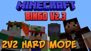 Minecraft 1.8: Bingo V2.3 2V2 Hard Mode With Hermits!