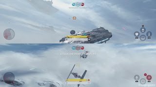 Star Wars Battlefront - Skirmish Gameplay ( Split Screen )