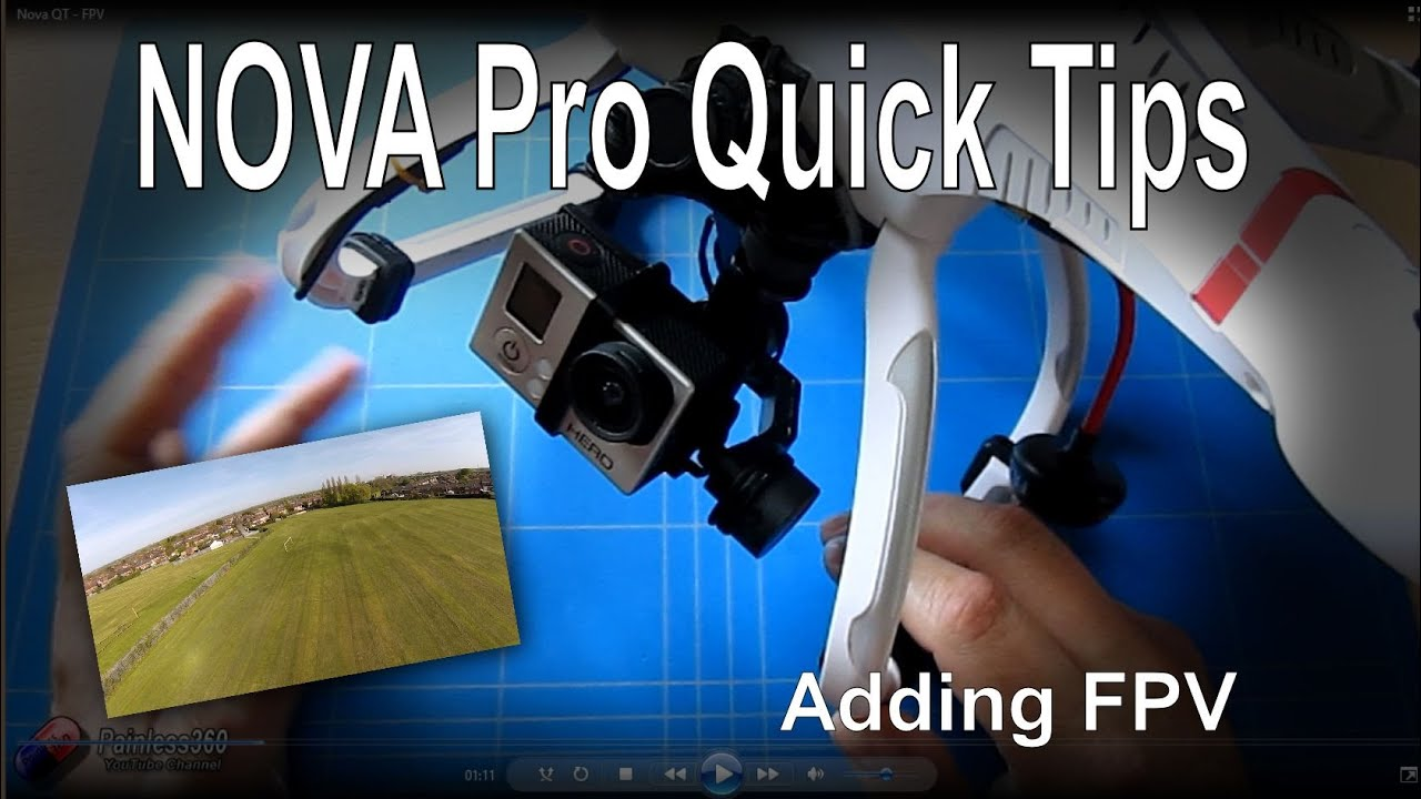 Quanum Nova Pro Quick Tips Adding Fpv Camera And Transmitter Youtube Wiring Diagram