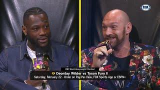 Wilder & Fury Talk that Talk during today's Press Conference! | Wilder Fury 2 Press Conference