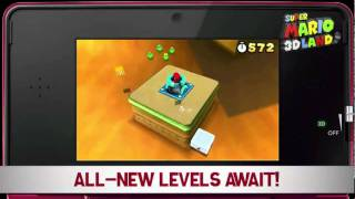 New trailer 1 - Super Mario 3D Land 06/10/2011