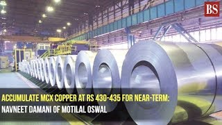 Accumulate MCX copper at Rs 430-435 for near-term: Navneet Damani of Motilal Oswal