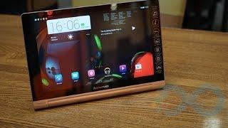 استعراض للجهاز اللوحي Lenovo Yoga Tablet 10 HD+
