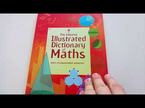 Illustrated dictionary of maths - Usborne