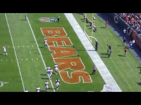 Chicago Bears Fight Song after a Touchdown