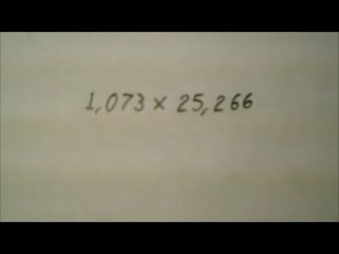 How to multiply big numbers the slow and easy way without