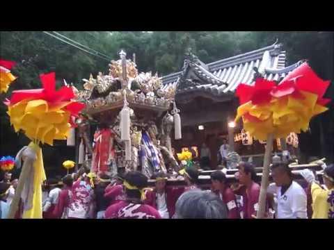 春日神社本宮 巖見港,伊津宮出(平成30年10月7日) - YouTube
