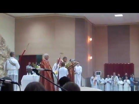 قداس عيد القيامة 2014 بغديدا Mass of Easter Festival 2014 Baghdida