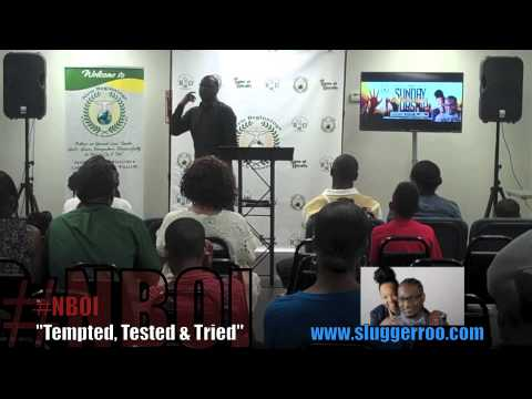 """""""Tempted,Tested & Tried!   #TTT  #PastorRoo   9.6.1"""